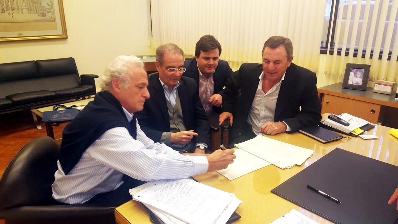 Grupo EDISUR firmó con el Banco Nación un acuerdo para construir más de 100 casas y departamentos en Córdoba