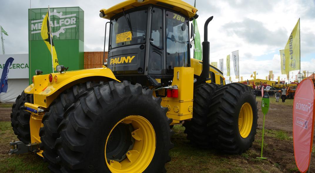 """Pauny invirtió U$S 3 millones para hacer un tractor """"híbrido"""""""