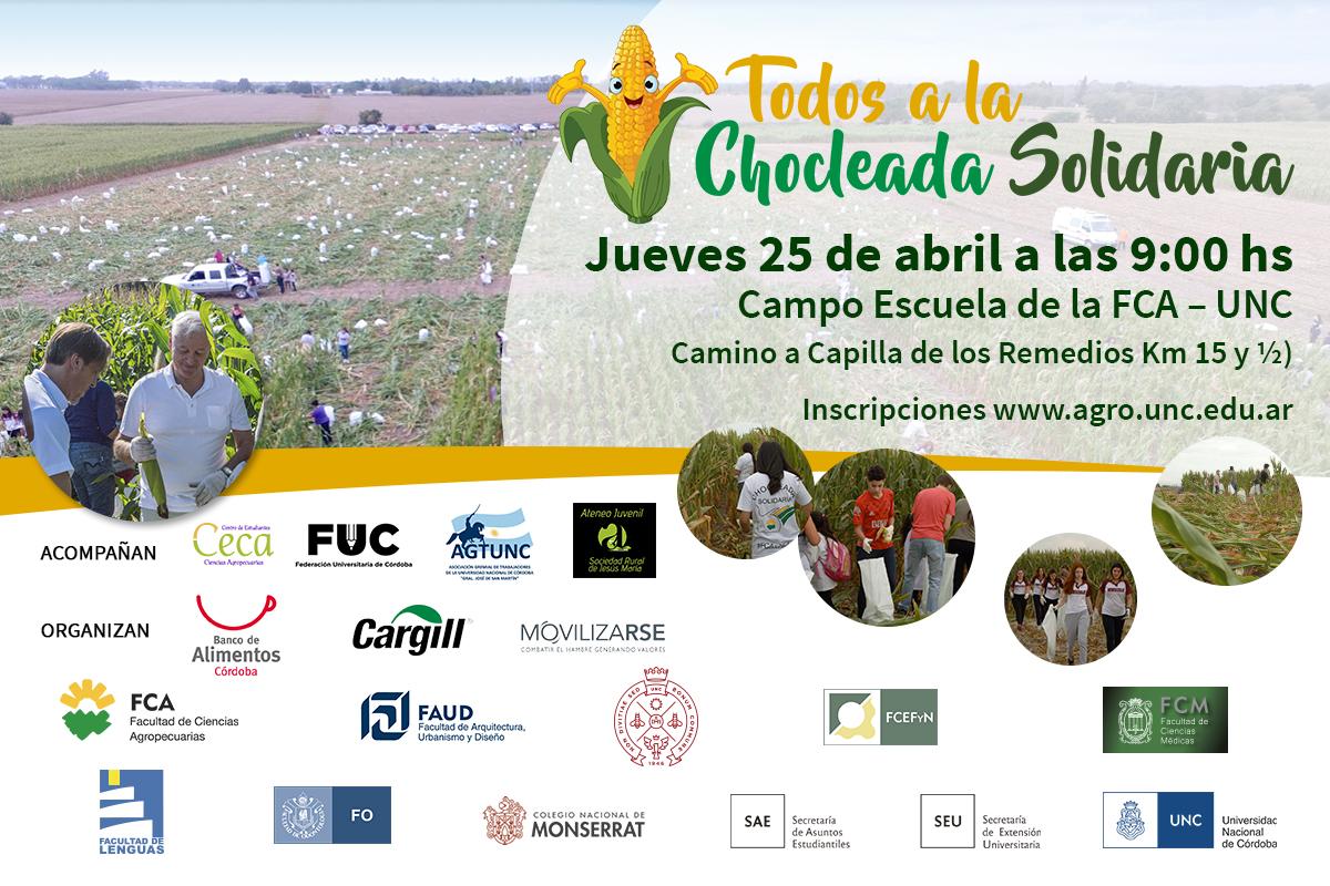 """El 25 """"Todos a la Chocleada Solidaria"""""""
