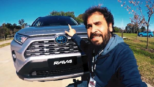 Probamos la nueva RAV4 de Toyota
