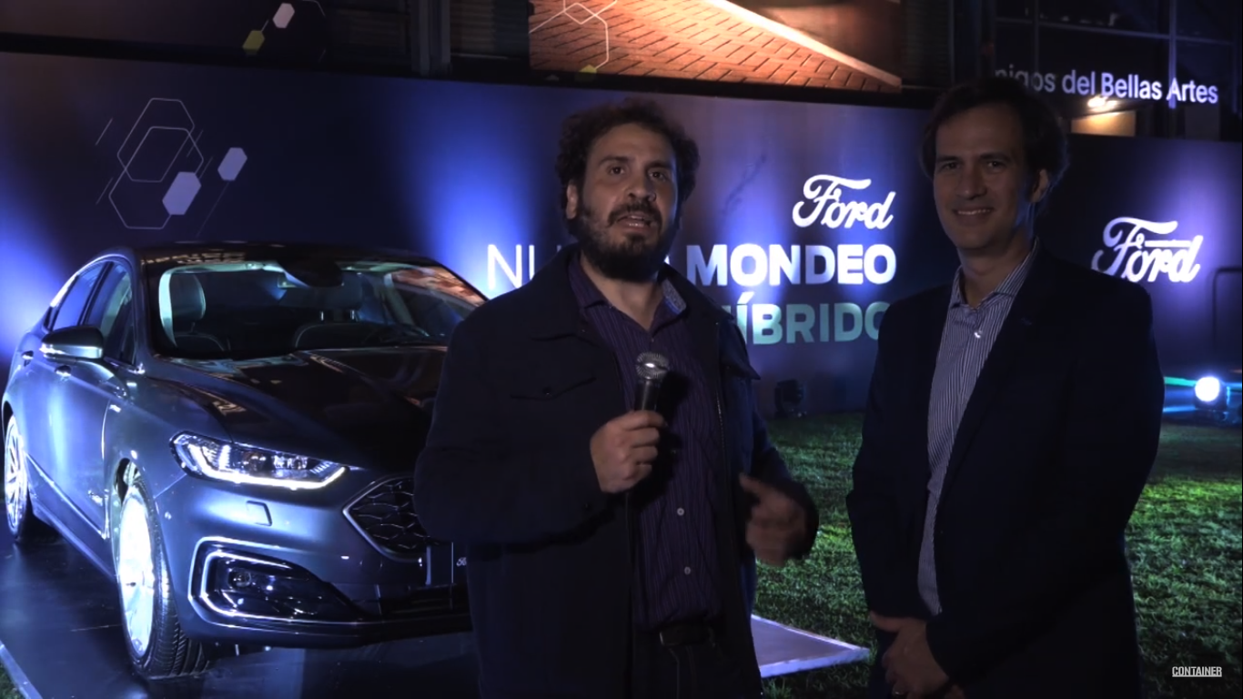 Ford presento el nuevo Mondeo Híbrido